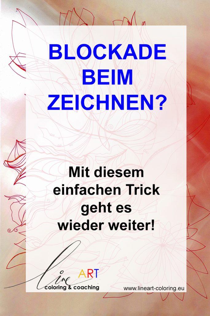 Tricks gegen Blockaden beim Zeichnen